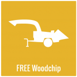 FREE woodchip with local delivery